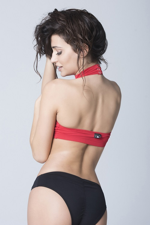 Eve Top - RAD Polewear red back