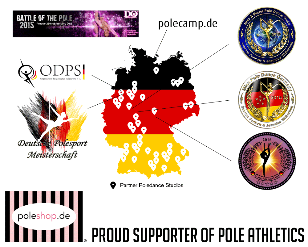 Poleshop.at Proud Supporter of Pole Athletics since 2011